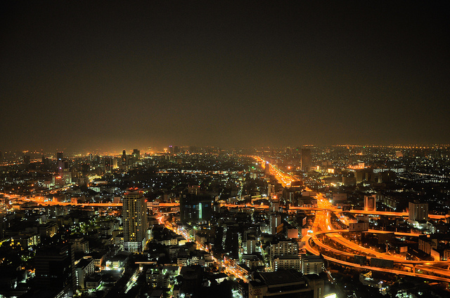 Bangkok by night - image by Poul Foged