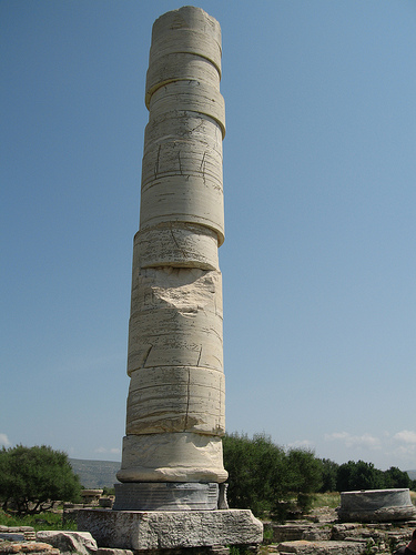 Jumbled column, Samos