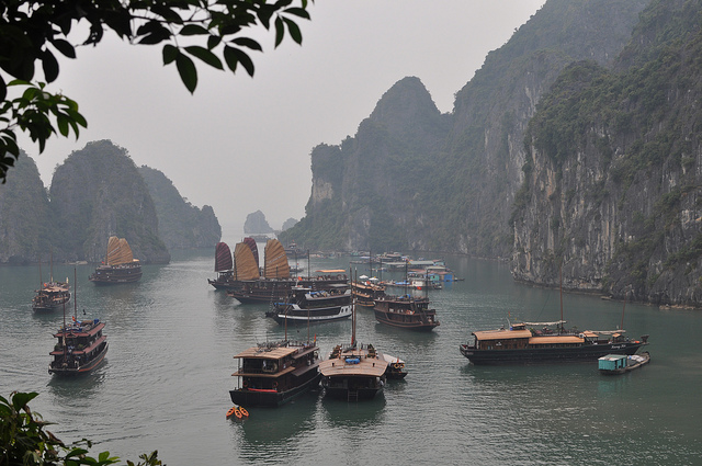 Ha Long Bay - view