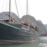 Ha Long Bay - boat