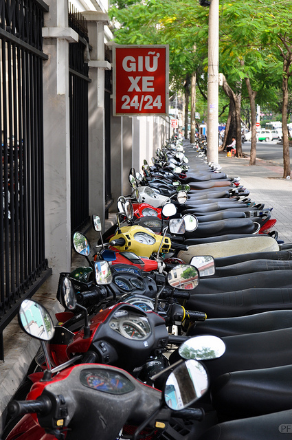 Motorbikes - organised